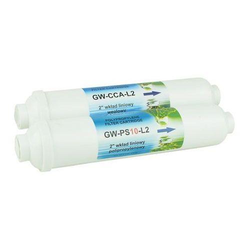 Komplet wkładów do filtra aquarius mini marki Global water