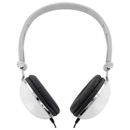 4World Słuchawki 4WORLD 4W pałąk Biały