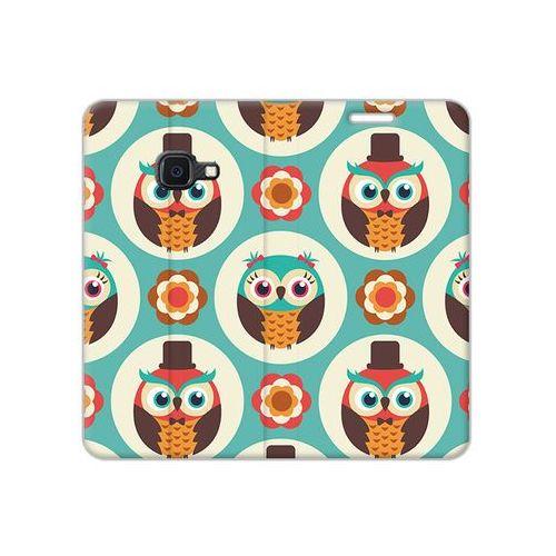 Etuo flex book fantastic Samsung galaxy xcover 4s - etui na telefon flex book fantastic - funny owls