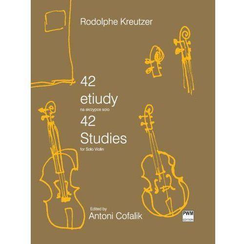 kreutzer rodolphe - 42 etiudy na skrzypce solo marki Pwm