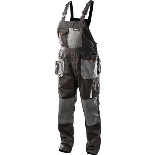 Spodnie robocze 81-240-xl na szelkach (rozmiar xl/56) + darmowy transport! marki Neo