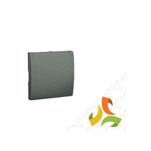 Pokrywa gniazda pojedynczego z/u hermetyczna IP44, grafit metalik MGZ1BP/25 SIMON CLASSIC, MGZ1BP/25/KON
