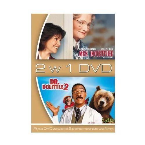 2 w 1 Pani Doubtfire / Dr Dolittle 2 (DVD) - Steve Carr, Chris Columbus