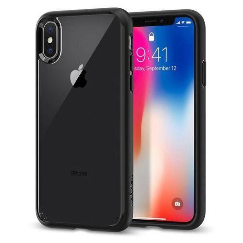 Etui ultra hybrid iphone x czarny marki Spigen