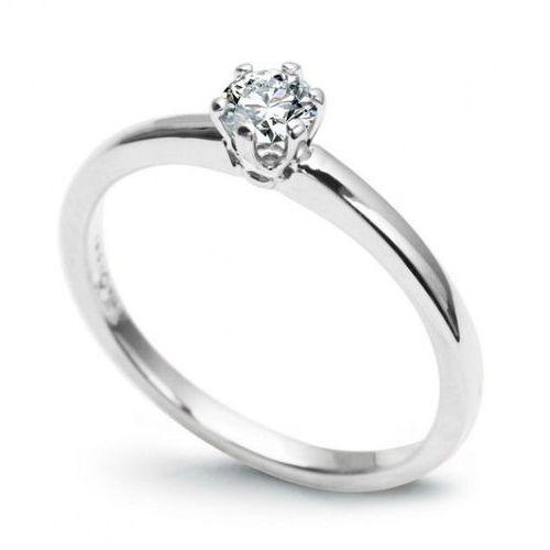 Złoty pierścionek pbd4409 - diament marki Staviori