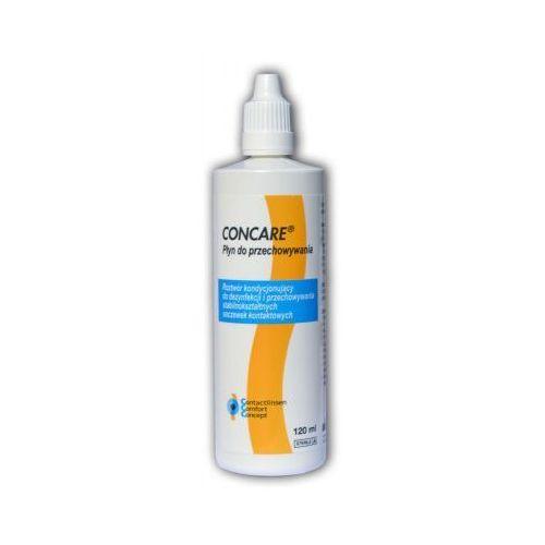 OKAZJA - Concare Aufbewahrung 120 ml. - środek do przechowywania twardych soczewek kontaktowych