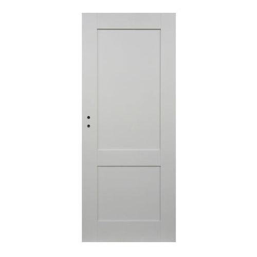 Drzwi pełne Camargue 90 prawe białe (5908443048830)