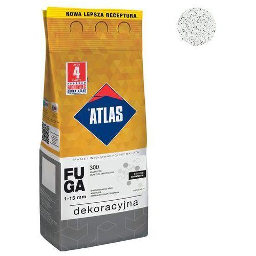 Fuga cementowa brokatowa 300 alabaster 2 kg marki Atlas