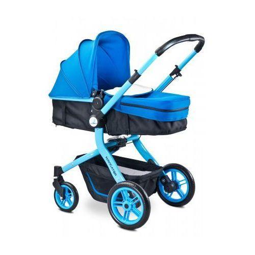 Caretero Navigator wózek dziecięcy wielofunkcyjny 2 w 1 spacerówka gondola BLUE