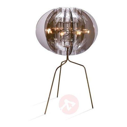 Slamp atlante lampa stołowa w kolorze dymu, 8-punktowe - nowoczesny - obszar wewnętrzny - atlante - czas dostawy: od 8-12 dni roboczych