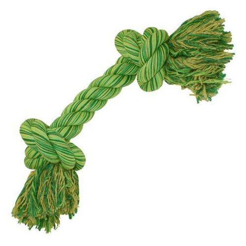 Solidna bawełniana lina z węzłami dla dużych psów marki Sznury