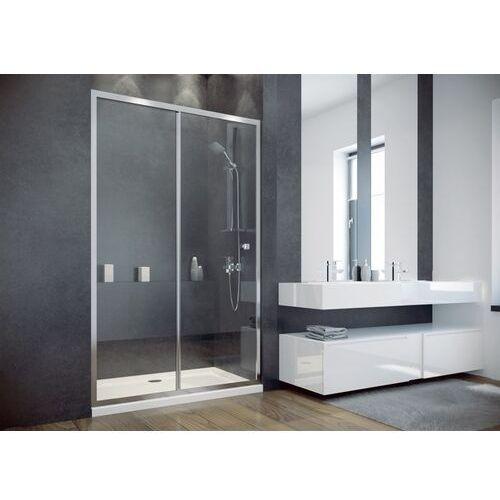Besco Drzwi prysznicowe rozsuwane 110 cm duo slide (5908239687380)