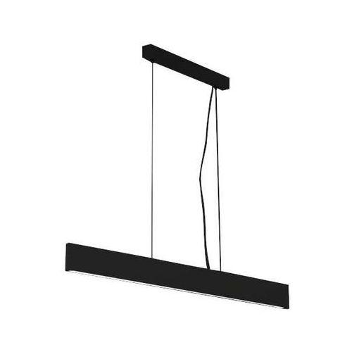 LAMPA wisząca HIOKI 5575/LED/CZ Shilo metalowa OPRAWA listwa ZWIS belka LED 10W metalowa czarna (1000000563320)