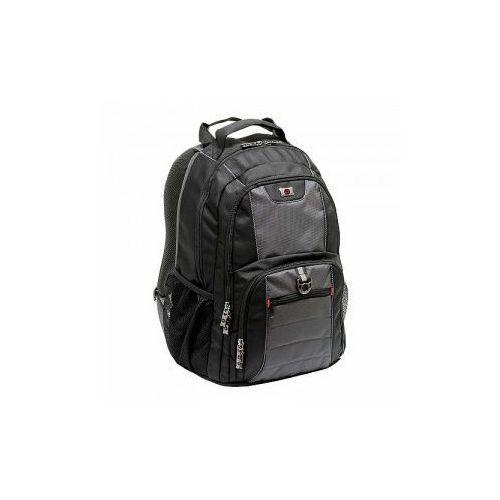 Plecak z kieszenią na laptopa do 16' marki Wenger model Pillar - kolor czarny, kolor czarny