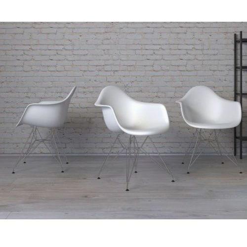 Krzesło p018 pp inspirowane dar - biały marki D2.design