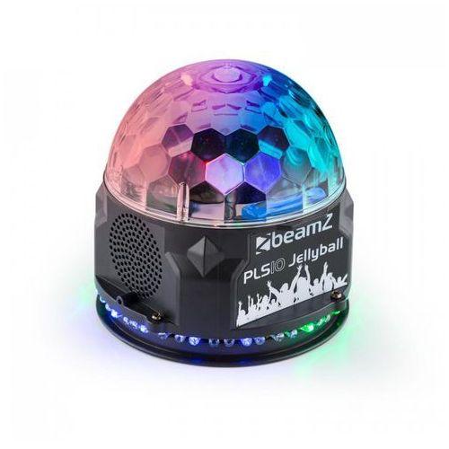Pls10 jellyball półkula oświetleniowa 3 diody rgb led 1w pierścień z 48 diodami rgb led głośnik bluetooth odtwarzacz mp3 marki Beamz