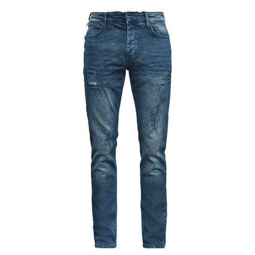 Q/S designed by jeansy męskie 33/32 niebieski, kolor niebieski