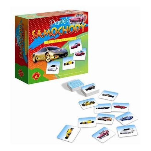 Alexander układanka pamięciowa samochody dla dzieci