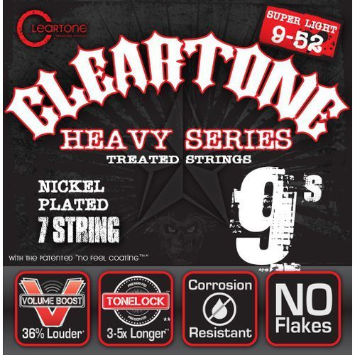 Cleartone electric emp strings, ultra light struny do gitary elektrycznej