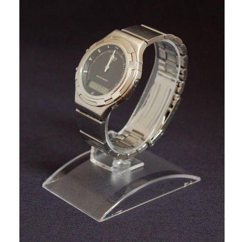 Ekspozytor przezroczysty do prezentacji zegarków - podstawa prostokątna (model II)