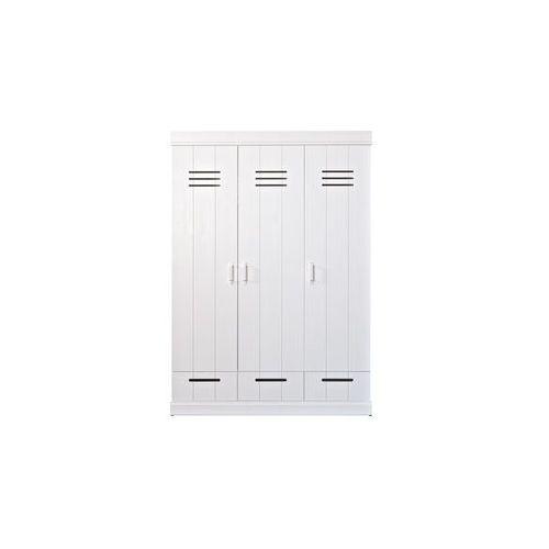 :: szafa connect trzydrzwiowa na ubrania - 3-drzwiowa marki Woood