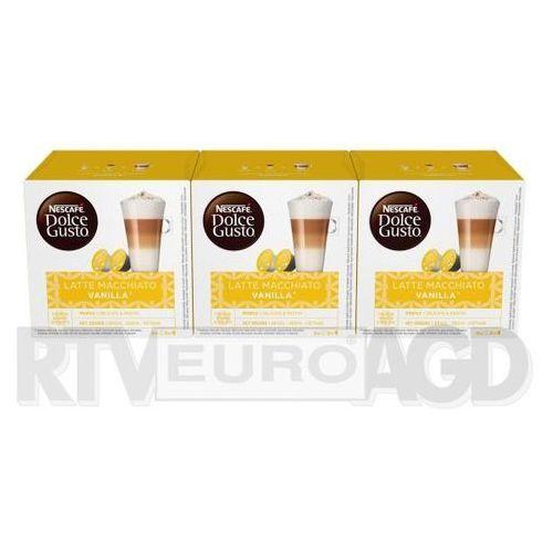 Nescafe Dolce Gusto Latte Macchiato Vanilla (3 opakowania) (0000001191409)