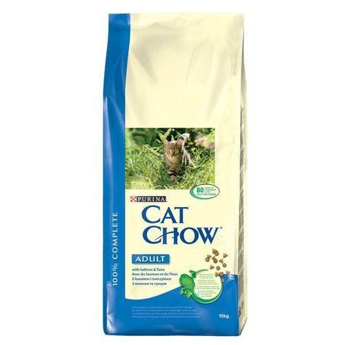 PURINA CAT CHOW Adult Tuna & Salmon 2x15kg (5997204514738)