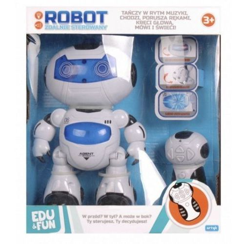 ROBOT ZDALNIE STEROWANY EDU AGENT BINGO (5901811113918). Najniższe ceny, najlepsze promocje w sklepach, opinie.
