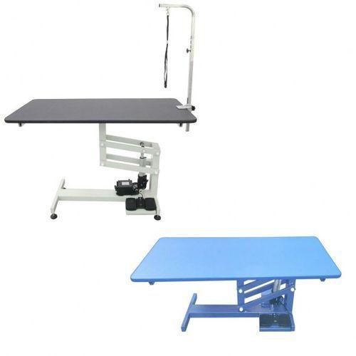 Stół z podnośnikiem elektrycznym, blat 120x60 cm, regulacja wys. 52x100 cm marki Shernbao