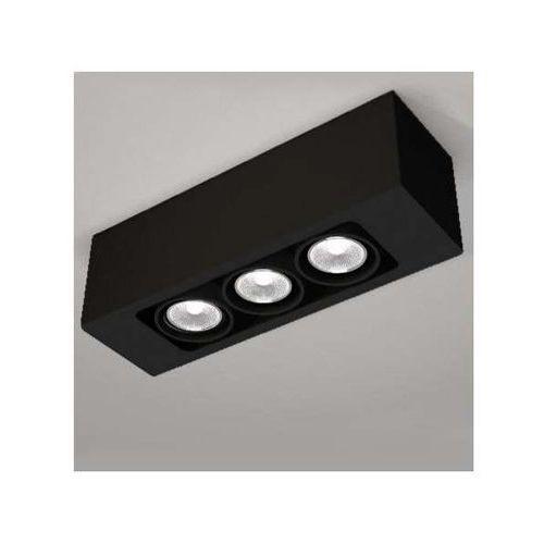 LAMPA sufitowa SETO 1138/GU10/CZ Shilo natynkowa OPRAWA reflektorowa czarny