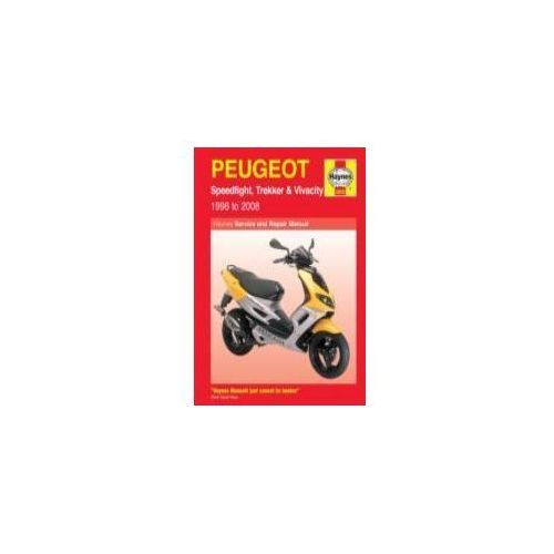 Peugeot Speedfight, Trekker (TKR) and Vivacity Service and R, Mather, Phil