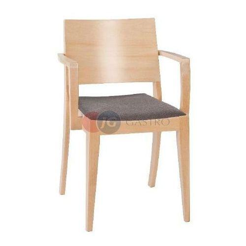 Paged Krzesło z podłokietnikiem buk b-9448