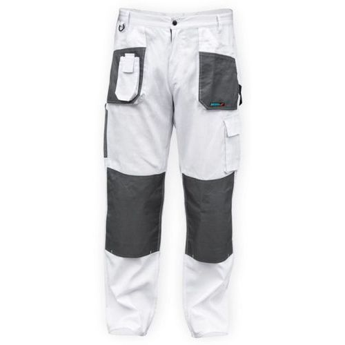 Spodnie ochronne DEDRA BH4SP-LD Biały (rozmiar LD/54)