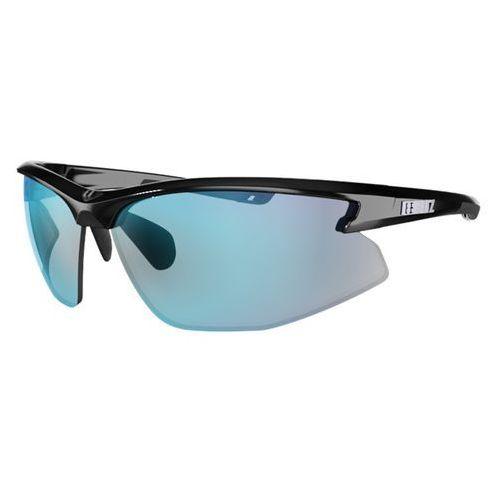 Bliz Sportowe okulary przeciwsłoneczne motion multi, czarny z niebieskimi szkłami (7318480087491)