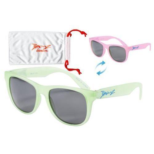 Banz Okulary przeciwsłoneczne dzieci 4-10lat kameleon - green to pink (9330696043793)