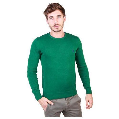 Sweter męski U.S. POLO - 49810_50357-88, kolor zielony