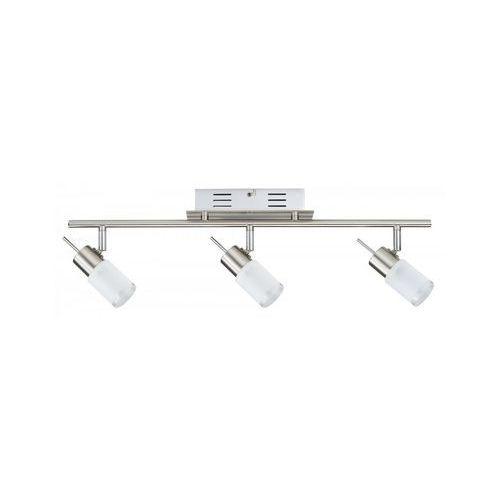 Paulmann Zyled listwa 3x3w żelazo sat. 230v/12v metal/szkło