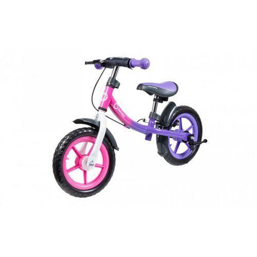 rowerek biegowy dan plus pink cameleon marki Lionelo