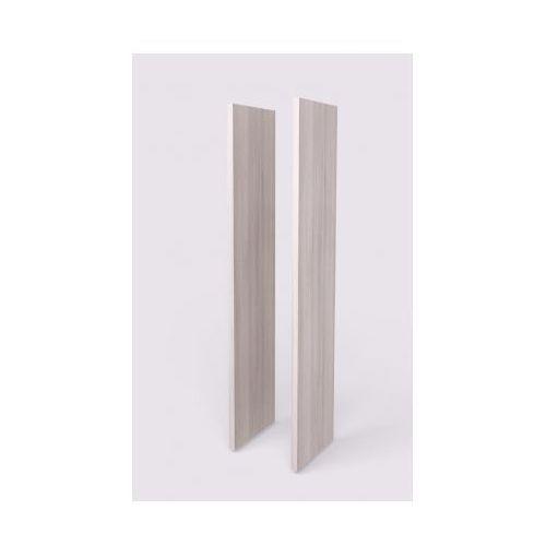 Boczna płyta wykończeniowa, para, 427 x 38 x 1938 mm, jasna akacja