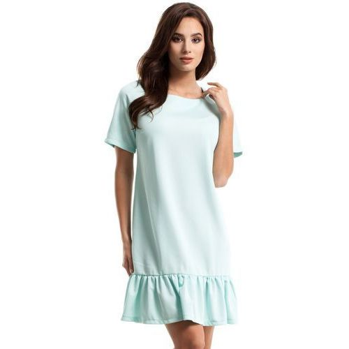 Moe M282 sukienka miętowa