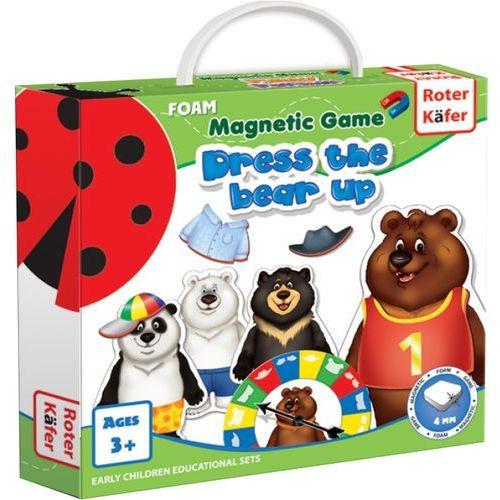Roter kafer Ubierz misia (dress a bear up) - gra magnetyczna - darmowa dostawa kiosk ruchu