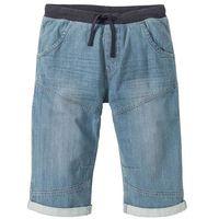 """Bonprix Bermudy dżinsowe loose fit jasnoniebieski """"bleached used"""
