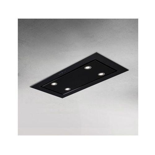 Okap sufitowy Solari Czarny 120 cm, 805 m3/h (5907670759243)