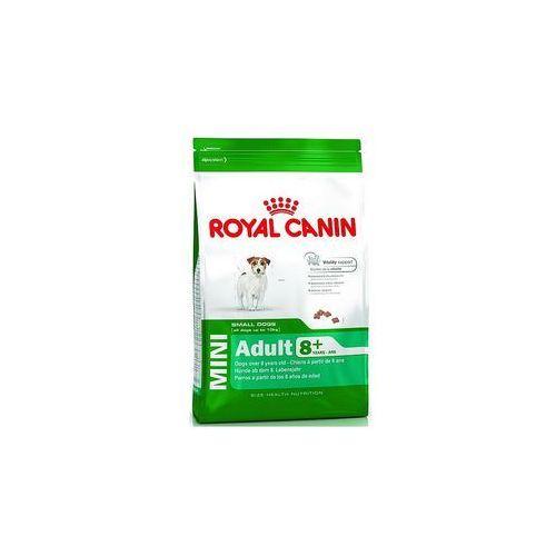Karma  dog food mini adult 8+ 8kg 3182550831406 - odbiór w 2000 punktach - salony, paczkomaty, stacje orlen marki Royal canin