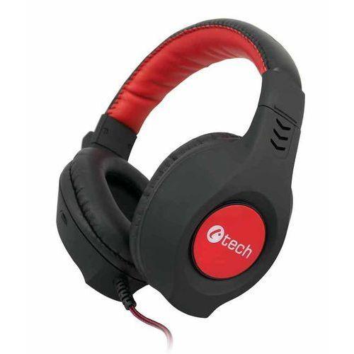 C-Tech słuchawki Nemesis V2 (GHS-14R), czarno-czerwone - BEZPŁATNY ODBIÓR: WROCŁAW!