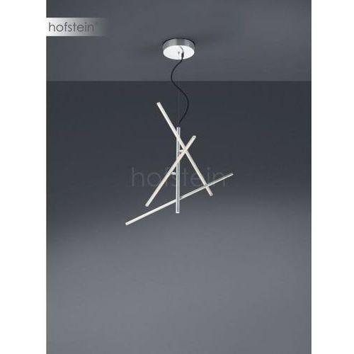 Trio tiriac lampa wisząca led nikiel matowy, 3-punktowe - nowoczesny - obszar wewnętrzny - tiriac - czas dostawy: od 3-6 dni roboczych (4017807391251)