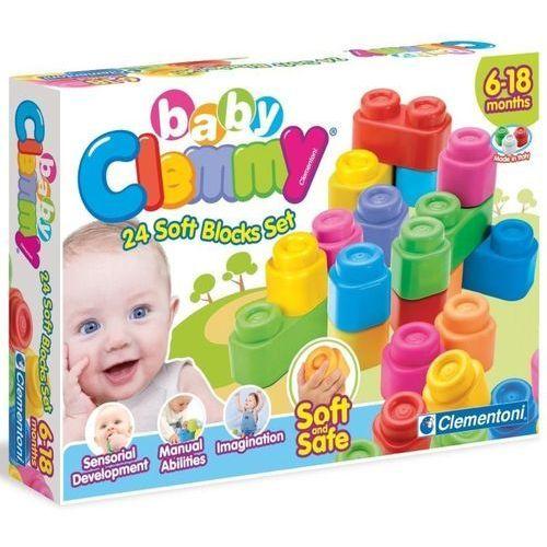 BABY CLEMMY ZESTAW 24 KLOCKÓW CLEMENTONI