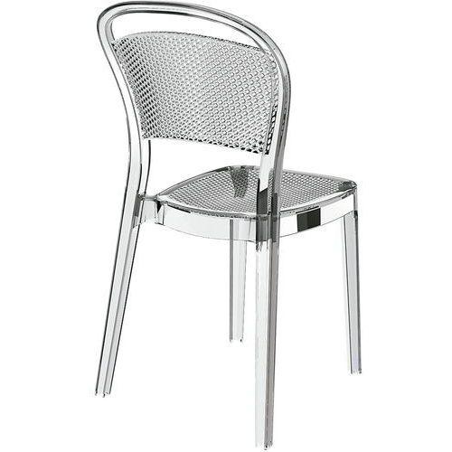 Krzesło Visual transparentny