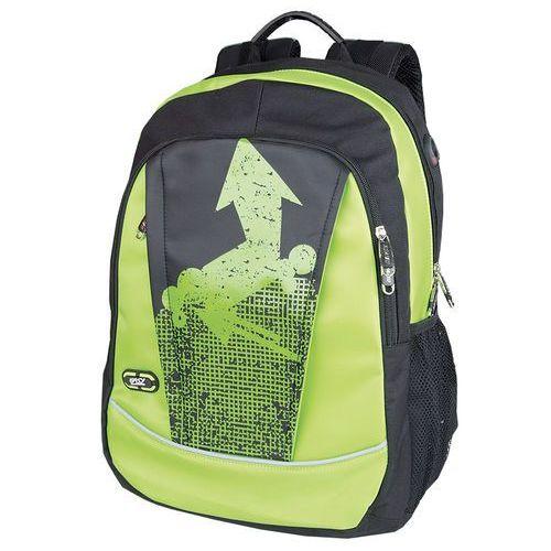 Plecak szkolno-sportowy SPOKEY 836133 Czarno-zielony (5901180361330)