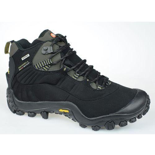 Męskie buty trekkingowe chameleon thermo 6 wp syn j87695 czarny 46 marki Merrell